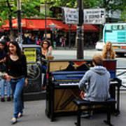 Paris Musicians 2 Art Print