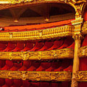 Paris Opera House Iv   Box Seats Art Print