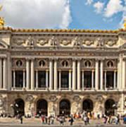 Paris Opera House Art Print