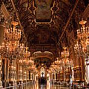 Paris Opera House Vi Art Print