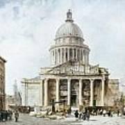 Paris: Pantheon, 1835 Art Print