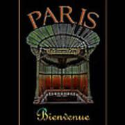 Paris Poster Art 1 Art Print