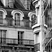 Paris Reflections 1 Art Print