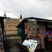 Paris Street Vendor 2 Art Print