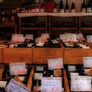 Paris Wine Shop Art Print