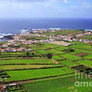 Parish In The Azores Art Print