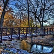 Park Bridge Art Print