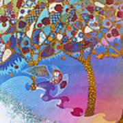 Park Guell. General Impression. Art Print