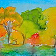 Park Impression Art Print