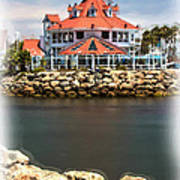 Parker's Lighthouse Charm Art Print