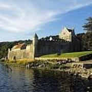 Parkes Castle, Co Leitrim, Ireland Art Print