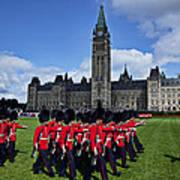 Parliament Building Ottawa Canada  Art Print by Garry Gay