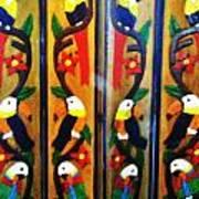 Parrots And Tucans  Art Print