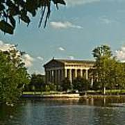 Parthenon At Nashville Tennessee 1 Art Print