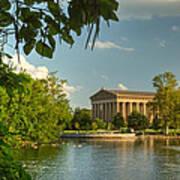 Parthenon At Nashville Tennessee 13 Art Print