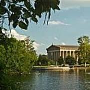 Parthenon At Nashville Tennessee 2 Art Print