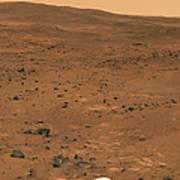 Partial Seminole Panorama Of Mars Art Print
