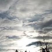 Parting Clouds Art Print