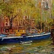 Party Boat Amsterdam Art Print