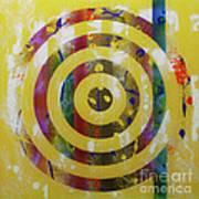 Party- Bullseye 2 Art Print by Mordecai Colodner