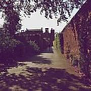 Passageway At Hampton Court Palace Art Print