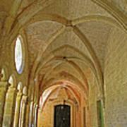 Passageway In A Monastery  Art Print