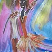 Passion Ballet Art Print