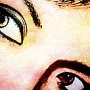 Passionate Eyes Art Print