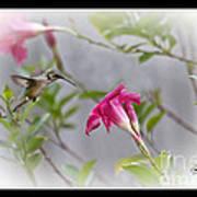 Pastel Angel Art Print