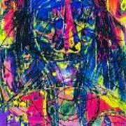 Pastel Man 17 Art Print
