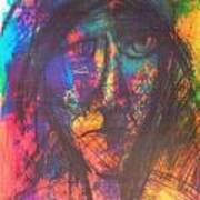 Pastel  Man 18 Art Print
