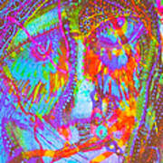Pastel Man 22 Art Print