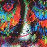 Pastel Man 29 Art Print