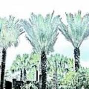 Pastel Palms Art Print