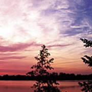 Pastel Pink Sunset Art Print