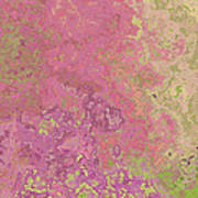 Pastle Pink Stone Art Print