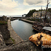 Pasty On The Harbour Art Print