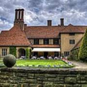 Patio Restaurant At Cecilienhof Palace Art Print