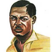 Patrice Lumumba Art Print