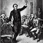 Patrick Henry, American Patriot Print by Photo Researchers