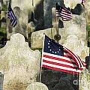 Patriot Cemetery Art Print