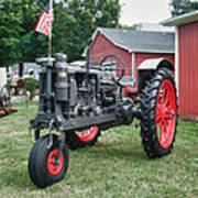 Patriotic Farmall Art Print
