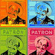Patron Marque Deposee Cigar Label Art Print