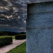 Paul Cret Gettysburg Monument Art Print by Andres Leon