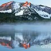 Paulina Lake Reflections Art Print