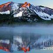 Paulina Peak Reflections Art Print