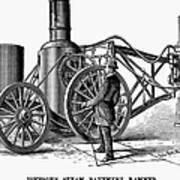 Paving Machine, 1879 Art Print