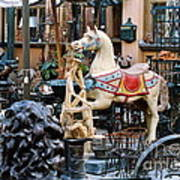 Pawn Shop In San Miguel Mexico 1991 Art Print