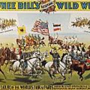 Pawnee Bill Poster, 1895 Art Print