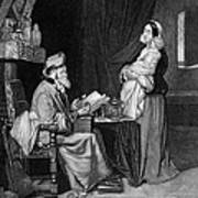 Pawning, 19th Century Art Print